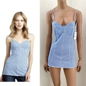NEW Free People Intimately striped corset top L